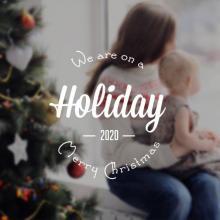 Gesloten tijdens Kerstvakantie